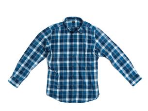 メンズの長袖シャツの写真素材 [FYI01193769]