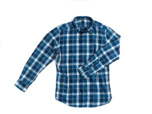 メンズの長袖シャツの写真素材 [FYI01193770]