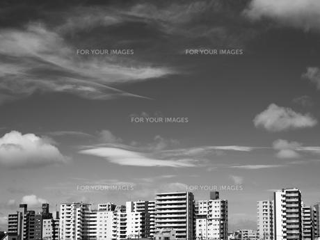 東京の空の写真素材 [FYI01193808]