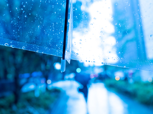 雨の丸の内の写真素材 [FYI01194123]