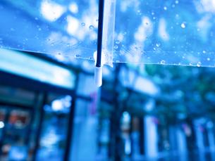 雨の丸の内の写真素材 [FYI01194129]