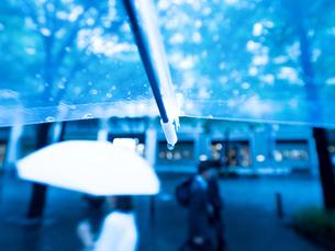 雨の丸の内の写真素材 [FYI01194145]