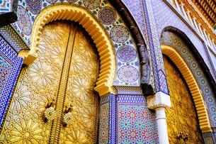 モロッコ王宮の写真素材 [FYI01194377]