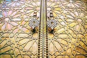 モロッコ王宮の写真素材 [FYI01194381]