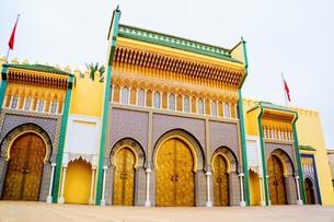 モロッコ王宮の写真素材 [FYI01194382]