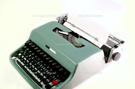 タイプライターの写真素材 [FYI01194505]