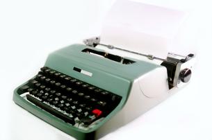 タイプライターの写真素材 [FYI01194506]