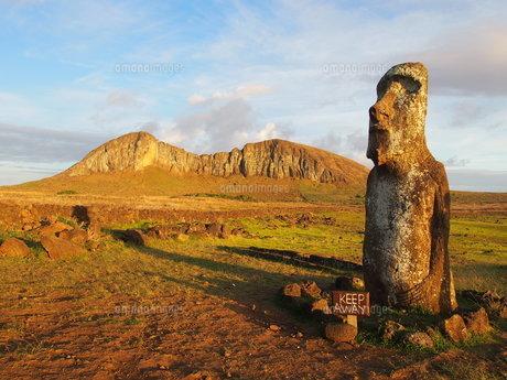 イースター島モアイの写真素材 [FYI01194632]