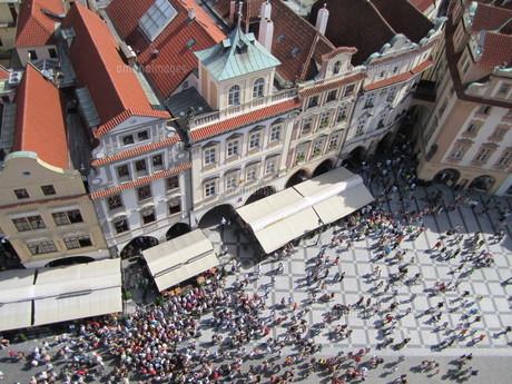 プラハの街並みの写真素材 [FYI01194633]