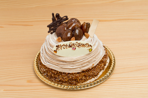 バースデーケーキの写真素材 [FYI01194727]