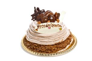 バースデーケーキの写真素材 [FYI01194729]