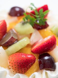 フルーツケーキの写真素材 [FYI01194730]