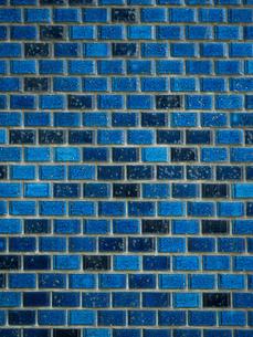 タイルの壁の写真素材 [FYI01194734]