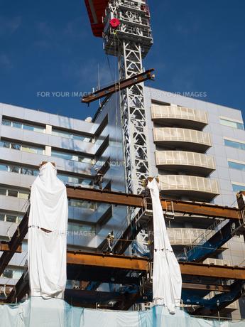 ビル建設工事の写真素材 [FYI01194739]
