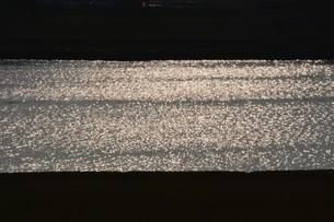暮色・筑後川の写真素材 [FYI01195055]