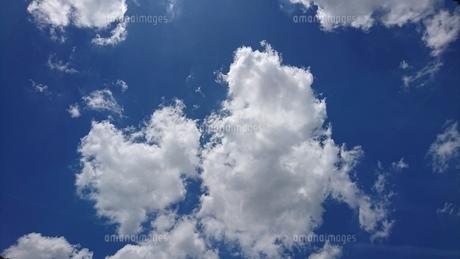 夏の雲の写真素材 [FYI01195091]