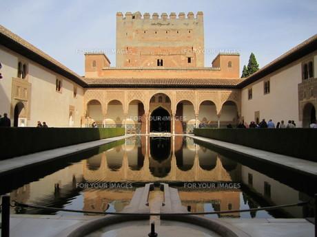 アルハンブラの城の写真素材 [FYI01195207]