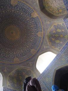 イスラム寺院天井の写真素材 [FYI01195208]