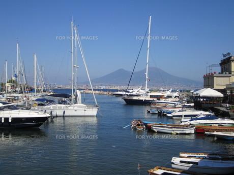 サンタルチア港の写真素材 [FYI01195211]