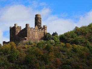 ドイツのお城 Burg Mausの写真素材 [FYI01195213]