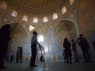 エスファハーンのモスク2の写真素材 [FYI01195217]