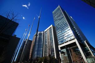 東京丸の内のオフィス街の写真素材 [FYI01195473]