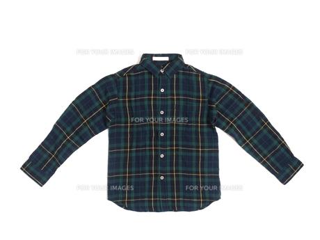 子供用の綿シャツの写真素材 [FYI01195713]