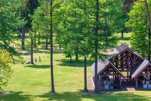 キャンプ場の写真素材 [FYI01195794]
