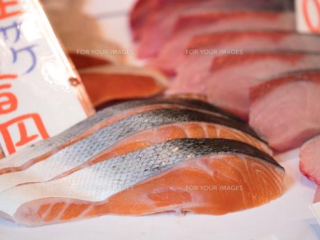塩鮭の写真素材 [FYI01196266]