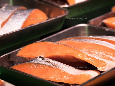 塩鮭の写真素材 [FYI01196267]
