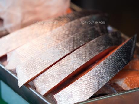 塩鮭の写真素材 [FYI01196609]