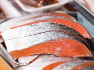 塩鮭の写真素材 [FYI01196610]