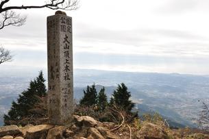 大山山頂の写真素材 [FYI01196875]