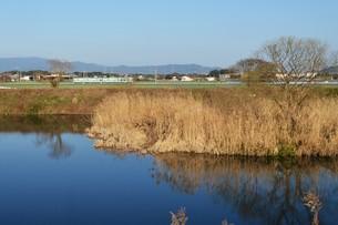 日本の風景・遠くで汽笛を聞きながら / 九州福岡県朝倉市の写真素材 [FYI01196997]