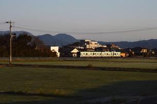 日本の風景・遠くで汽笛を聞きながら / 九州福岡県朝倉市の写真素材 [FYI01196999]