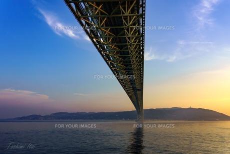 明石大橋の写真素材 [FYI01197145]