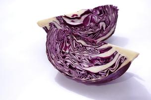 紫キャベツの写真素材 [FYI01197158]