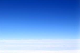 雲の水平線の写真素材 [FYI01197229]