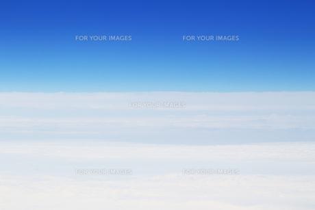 雲の水平線の写真素材 [FYI01197231]