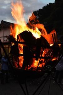 日本の風景・篝火(かがりび)の写真素材 [FYI01197283]