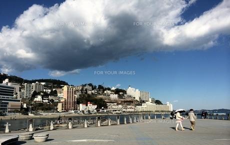 青空と雲との写真素材 [FYI01197289]