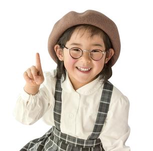 ひらめく子供の写真素材 [FYI01197309]
