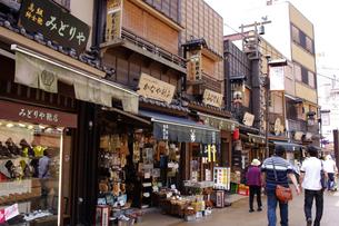 浅草の町並の写真素材 [FYI01197354]