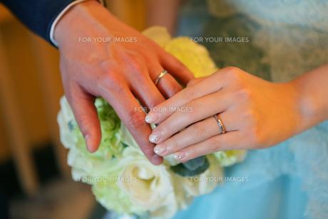 結婚式の写真素材 [FYI01197372]