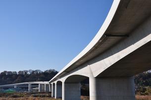 建設中の高速道路の写真素材 [FYI01197573]