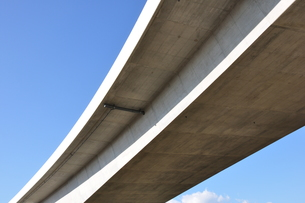 建設中の高速道路の写真素材 [FYI01197576]
