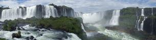 イグアスの滝の写真素材 [FYI01197835]