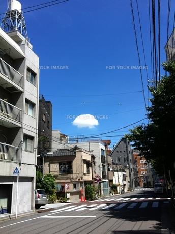 クラゲ雲の写真素材 [FYI01197958]