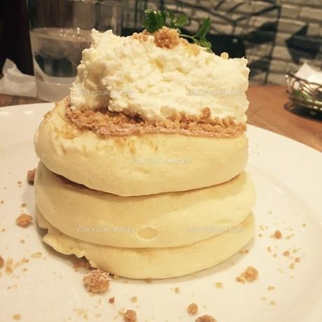 スフレパンケーキの写真素材 [FYI01198065]