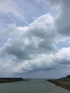 干潮の写真素材 [FYI01198120]